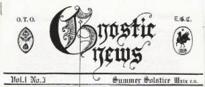 Cabeçalho do Gnostic News