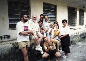 Primeiros Iniciados no Brasil e Frateres L.M.D. e o time de iniciação