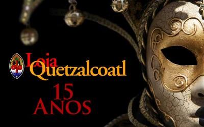 Loja Quetzalcoatl - 15 Anos